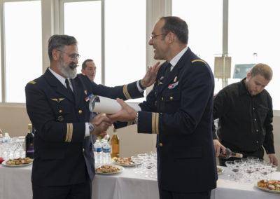 Inauguration de la nouvelle salle tradition de l'école baptisée « Les Écuyers du Ciel », Colonel Michel Ribot 34