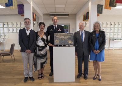 Inauguration de la nouvelle salle tradition de l'école baptisée « Les Écuyers du Ciel », Colonel Michel Ribot 35