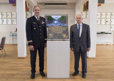 Inauguration de la nouvelle salle tradition de l'école baptisée « Les Écuyers du Ciel », Colonel Michel Ribot 37
