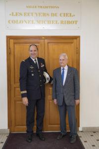 Inauguration de la nouvelle salle tradition de l'école baptisée « Les Écuyers du Ciel », Colonel Michel Ribot 40