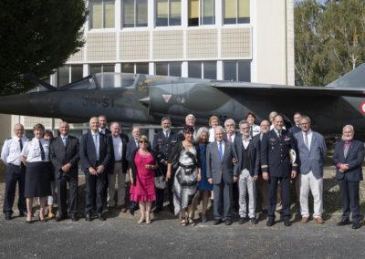 Inauguration de la nouvelle salle tradition de l'école baptisée « Les Écuyers du Ciel », Colonel Michel Ribot 42