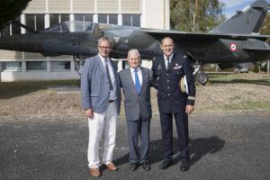 Inauguration de la nouvelle salle tradition de l'école baptisée « Les Écuyers du Ciel », Colonel Michel Ribot 41