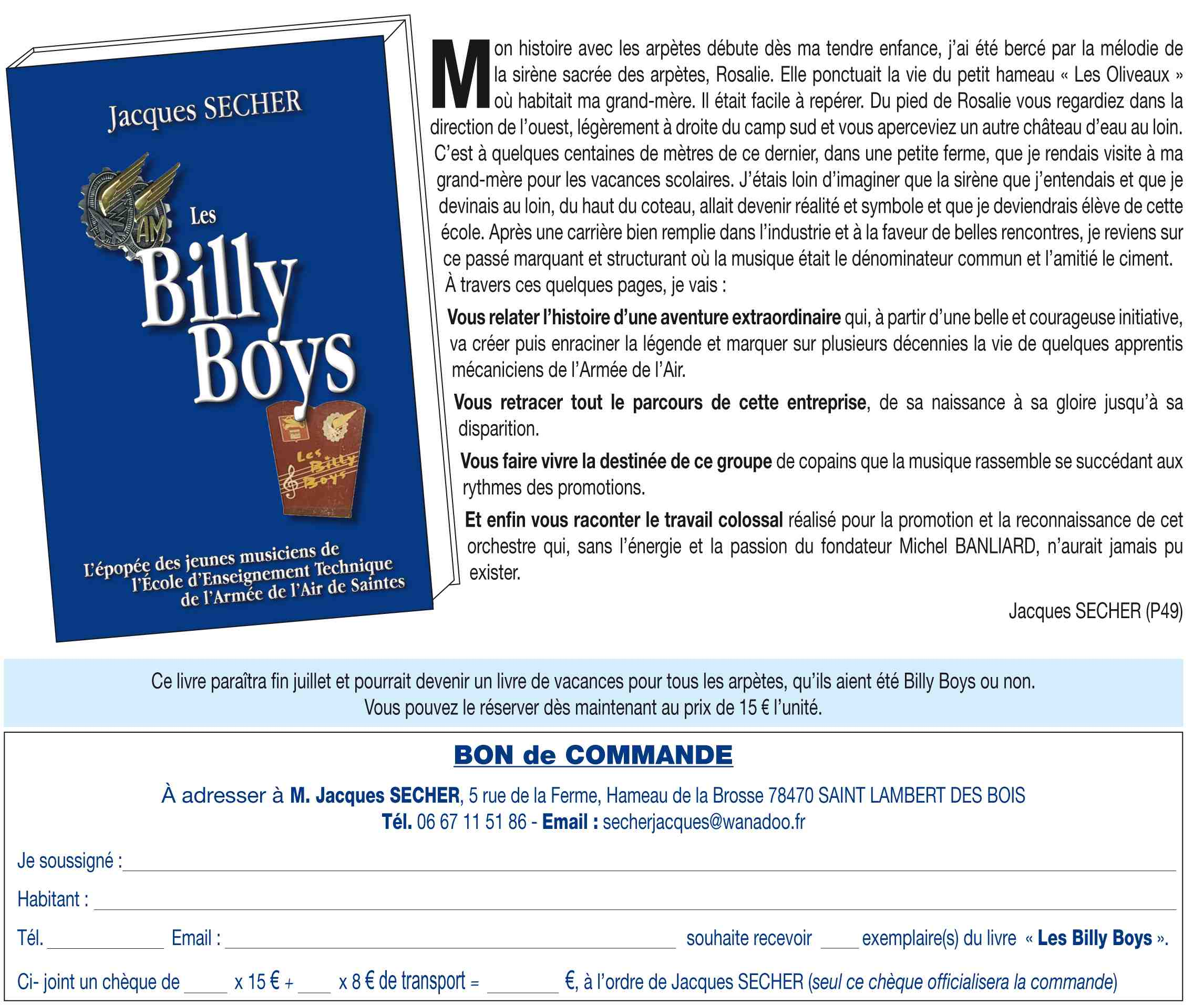 LES BILLY BOYS REVIENNENT SUR SCENE 2