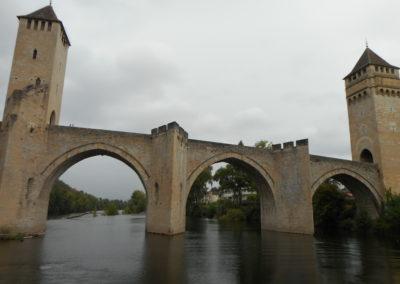 Croisière sur le lot entre le pont Valentré de Cahors et Parnac. 3