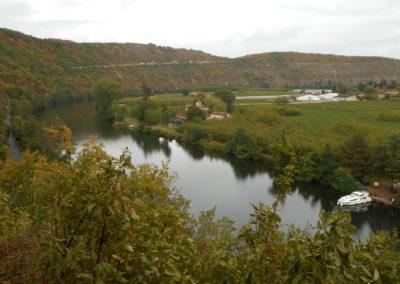 Croisière sur le lot entre le pont Valentré de Cahors et Parnac. 6