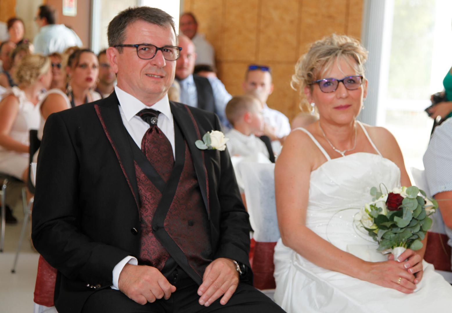 MARIAGE de Daniel CHAIRY (P81) avec Marie-Christine SCHULZ 1