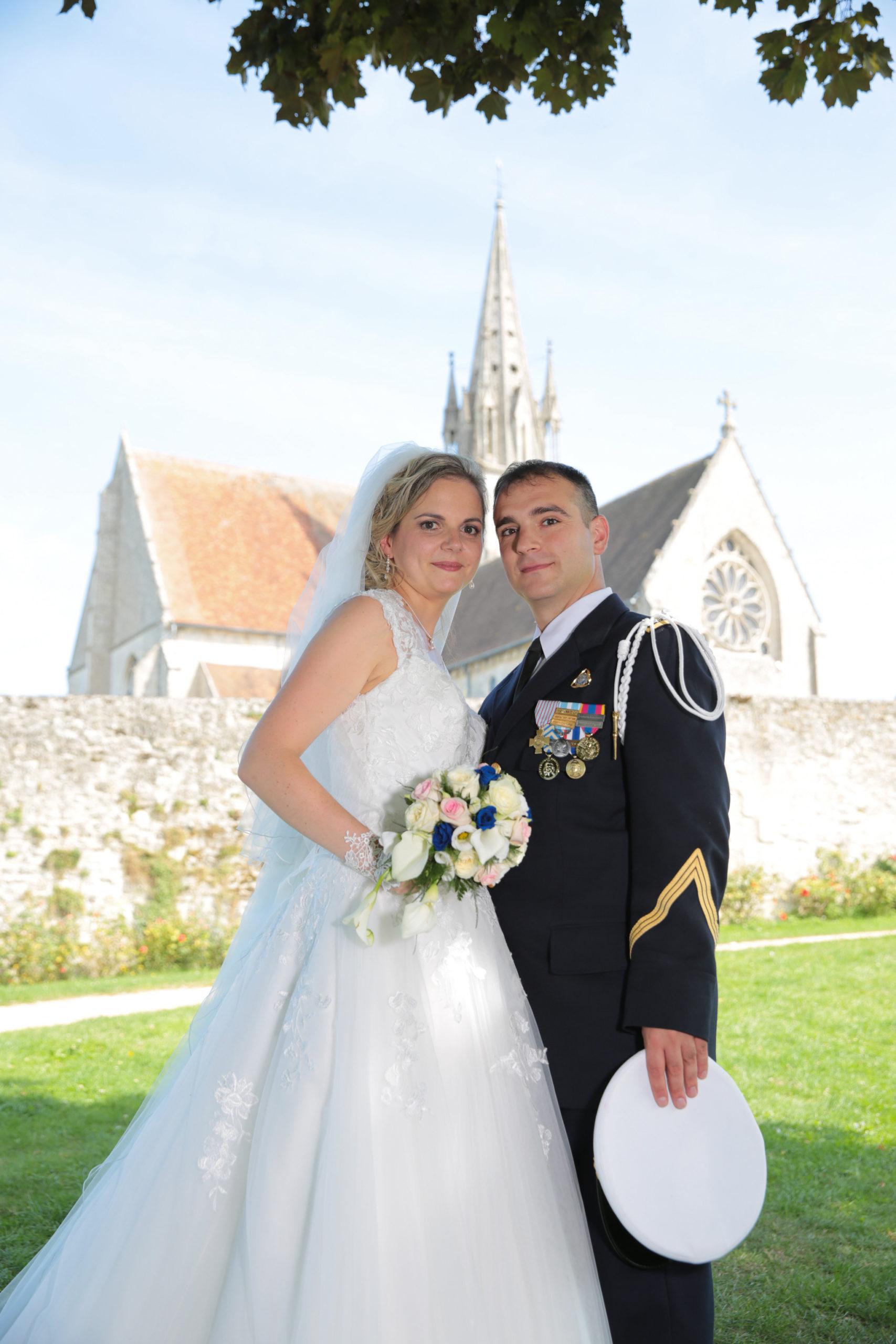 MARIAGE de Stéphane ALIBERT (P136) avec Mélanie 1