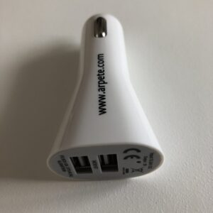 Chargeur double USB/ allume cigare