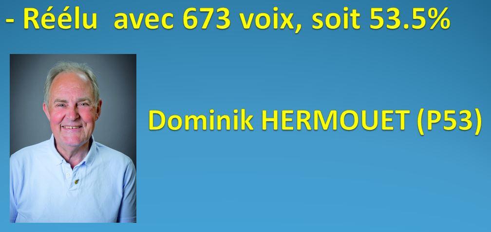 RESULTAT DES ELECTIONS DU 1/3 SORTANT DES MEMBRES DU C.A. 10