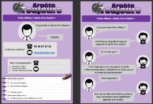 """Fiche réflexe """"décès d'un Arpète"""" 1"""