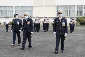 L'ADIEU AUX ARMES DU GENERAL DE CORPS AERIEN DIDIER LOOTEN (P87) 16