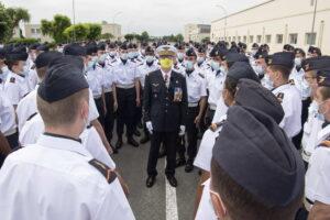L'ADIEU AUX ARMES DU GENERAL DE CORPS AERIEN DIDIER LOOTEN (P87) 44